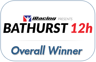 iRacing Bathurst 12 hour Winners
