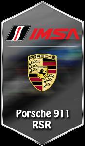 IMSA Porsche 911 RSR
