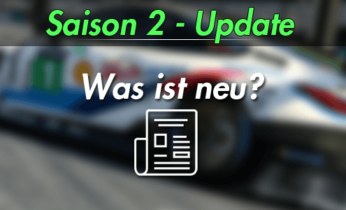 iRacing Season 2 - 2019 Update