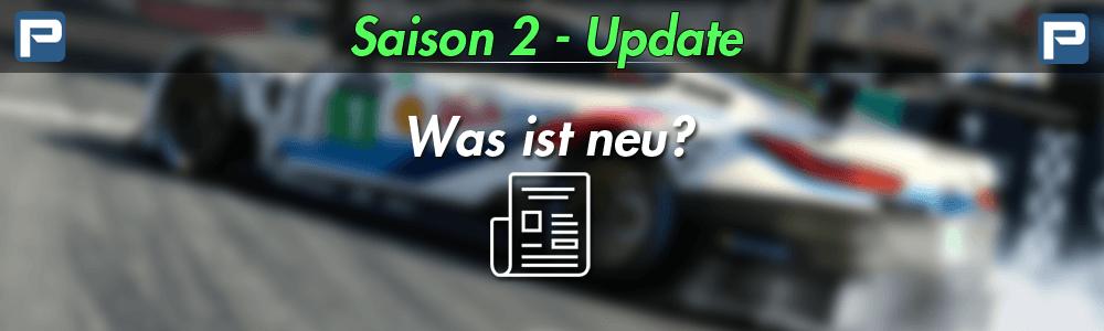 iRacing Season 2 - 2019 Update